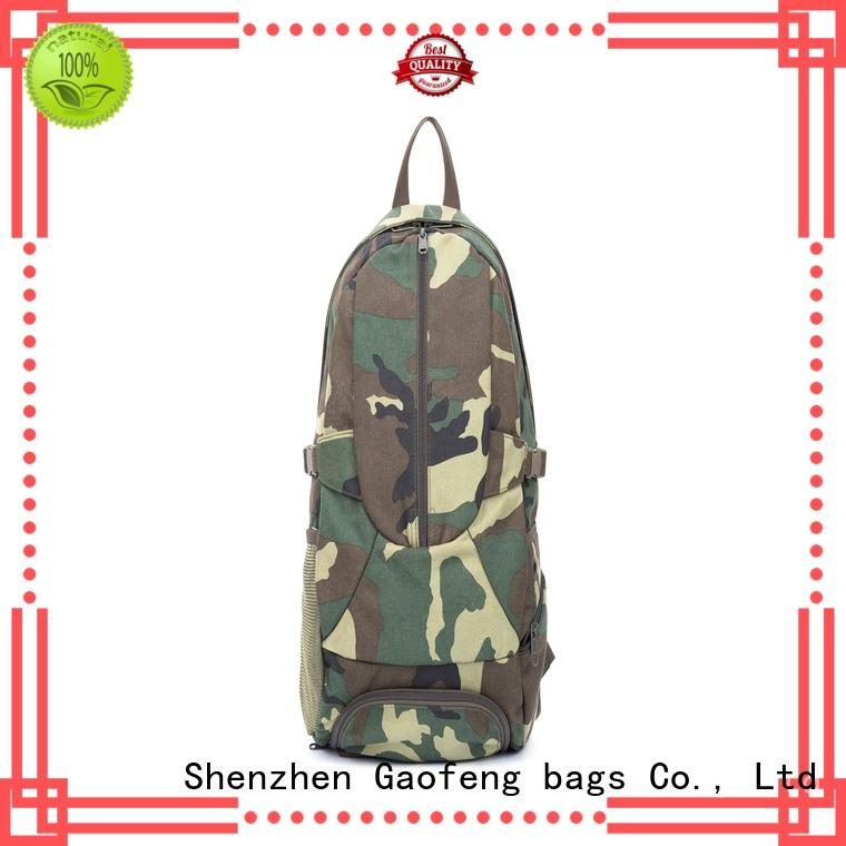 GF bags crossbody military tactical backpacks customization for shopping