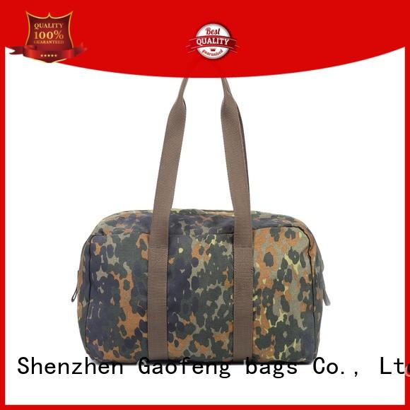 GF bags fabric military style backpack inquire now for shopping