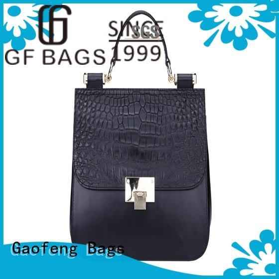 GF bags lock luxury handbags metal for ladies