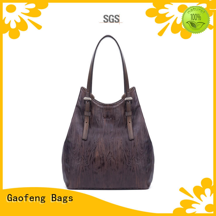 leather ladies bag zipper for ladies GF bags