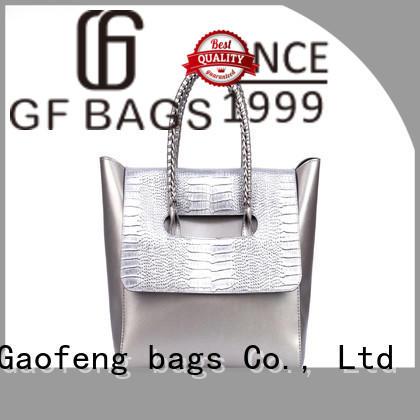 simple luxury handbags microfiber closure for women