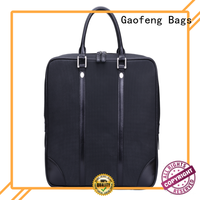 GF bags simple handle modern briefcase pattern for man