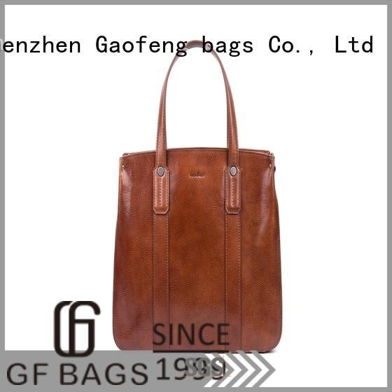 GF bags waxed luxury handbags closure for women
