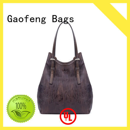 leather cover cute handbags pattern handle for women