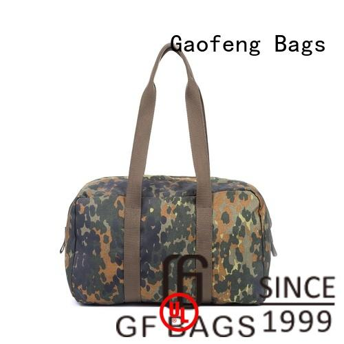 GF bags fabric military style backpack customization for trip
