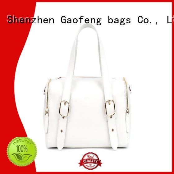 top cream handbags handle for ladies