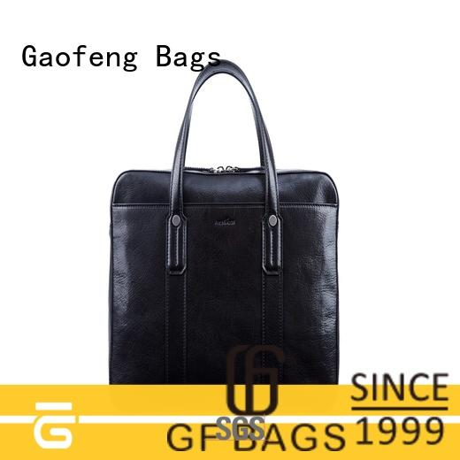 high end briefcase leather for man GF bags