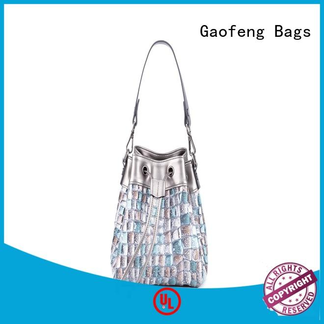 GF bags hot-sale best shoulder bags manufacturer for ladies