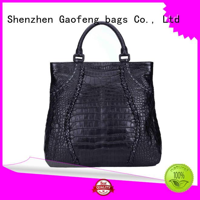 GF bags microfiber cute handbags closure for ladies