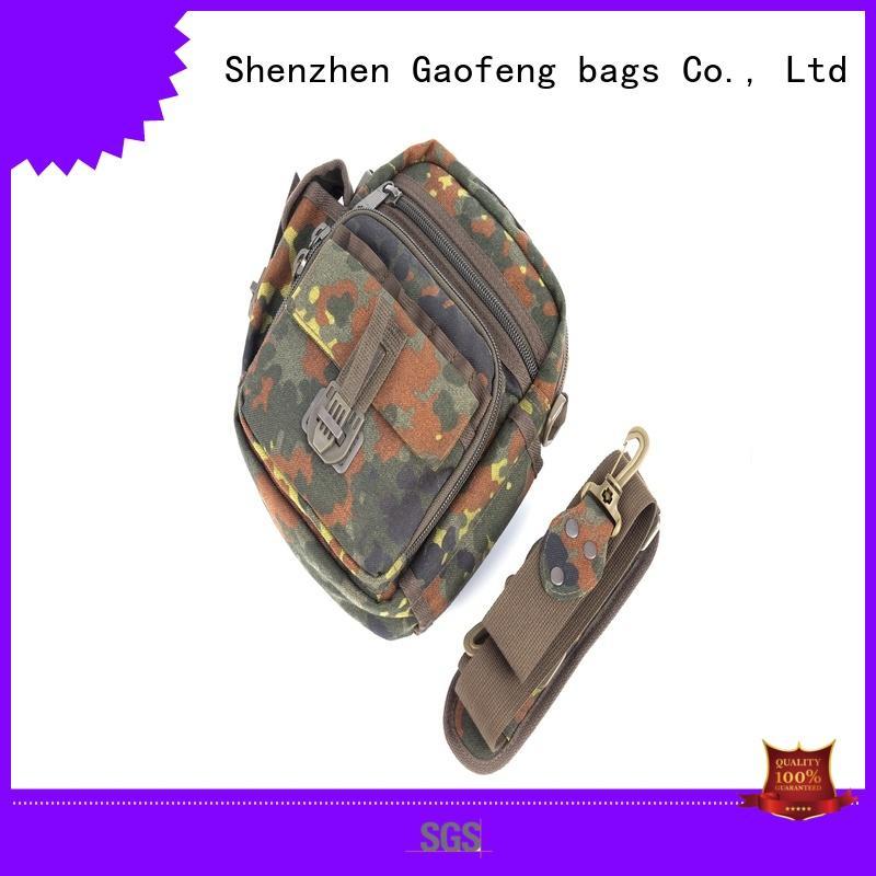 buckle tactical shoulder bag backpack for shopping GF bags