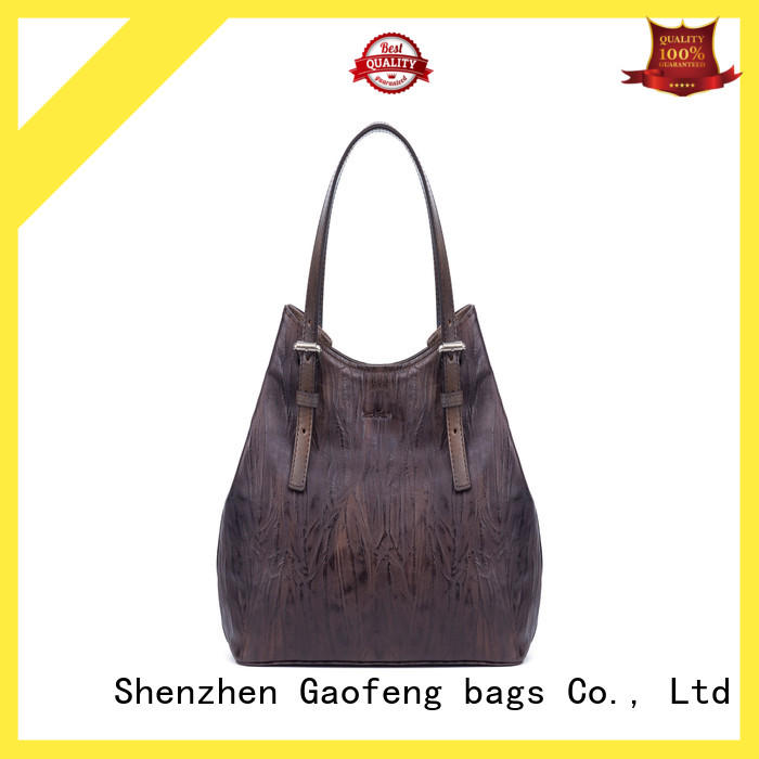 GF bags zipper latest handbags handle for women