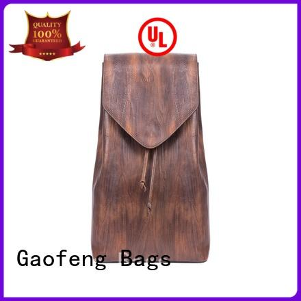 cover back backpack zipper for student GF bags