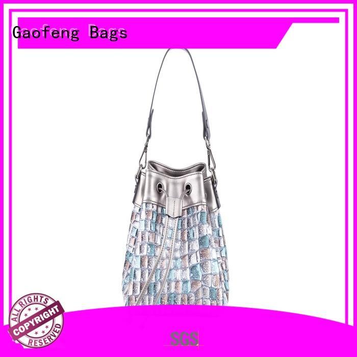 high-quality girls shoulder bag bucket for shopping