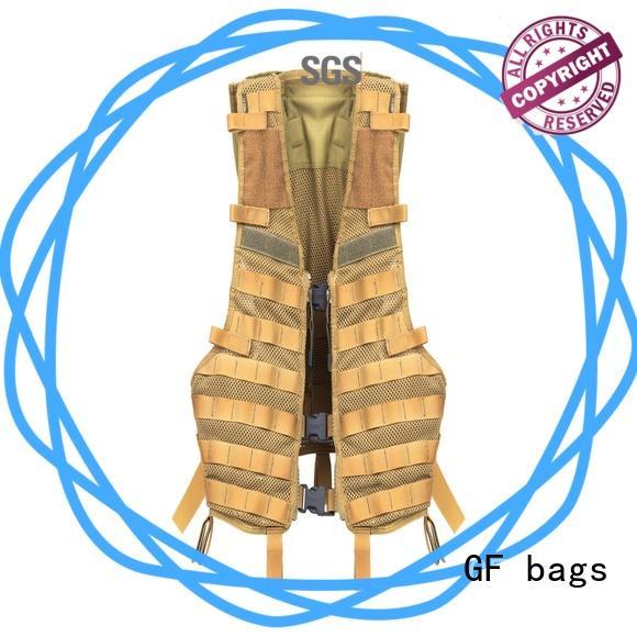 GF bags hot-sale military tactical vest bulk production for ladies